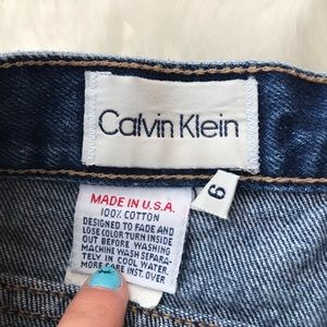 Calvin Klein Shorts - VTG 90s High Waisted Calvin Klein Jean Shorts
